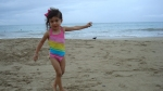 Amelie at the Beach in Puerto Rico